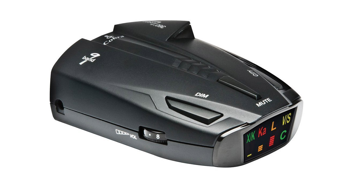 Cobra ESD7570 360 Degree Detection Radar Laser Detector image