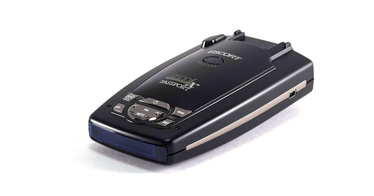 Escort Passport 9500IX Black Radar Laser Detector image