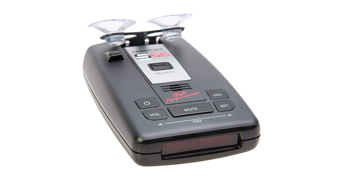 Escort Passport S55 High Performance Pro Radar and Laser Detector image