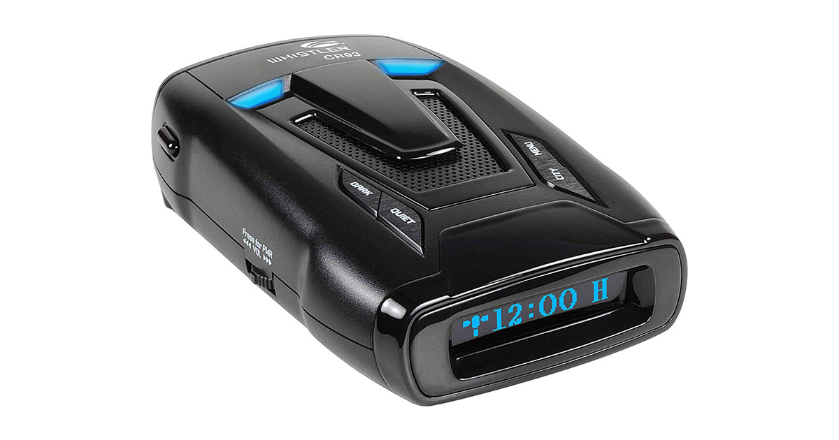 Whistler CR93 High Performance Laser Radar Detector image