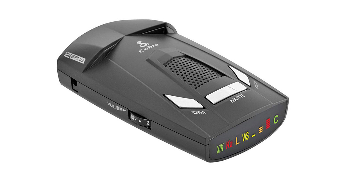 Cobra ESR800 12 Band Radar Detector image