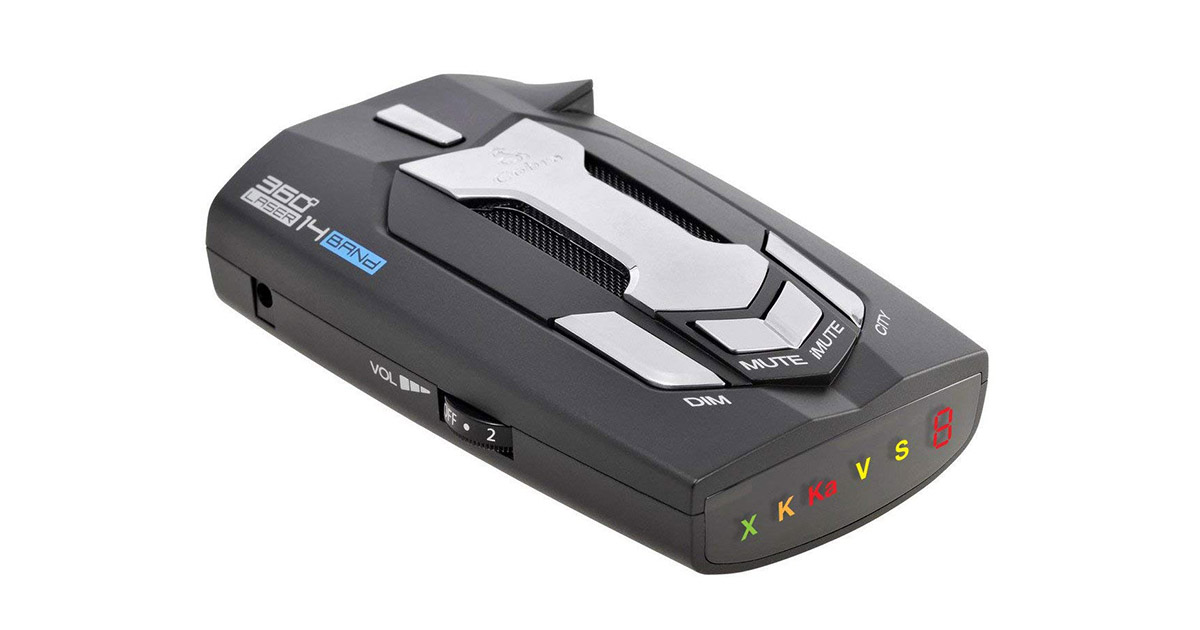 Cobra SPX 900 14 Band High Performance Digital Radar Laser Detector image