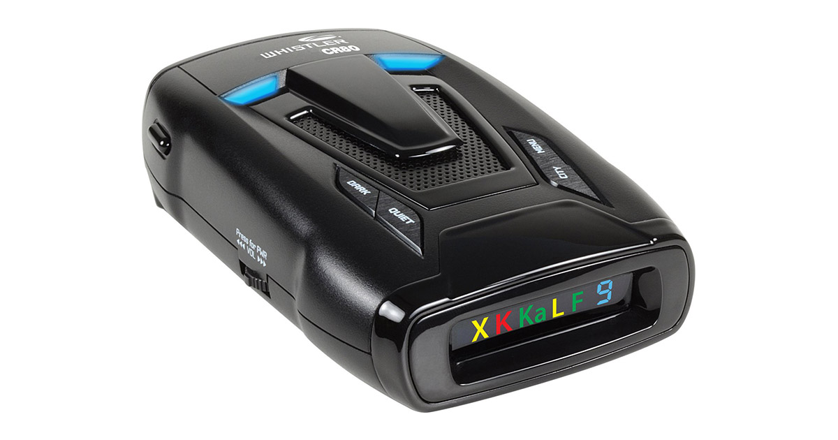 Whistler CR80 High Performance Laser Radar Detector image