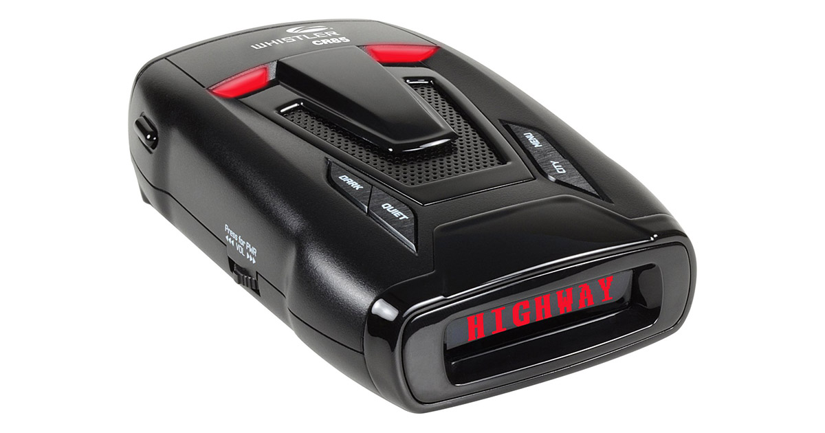 Whistler CR85 High Performance Laser Radar Detector image
