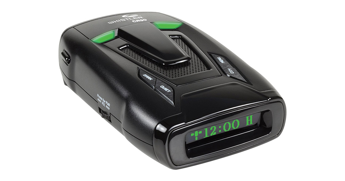 Whistler CR90 High Performance Laser Radar Detector image