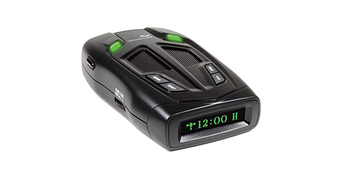 Whistler Z31R Bilingual English Spanish High Performance Radar Laser Detector image