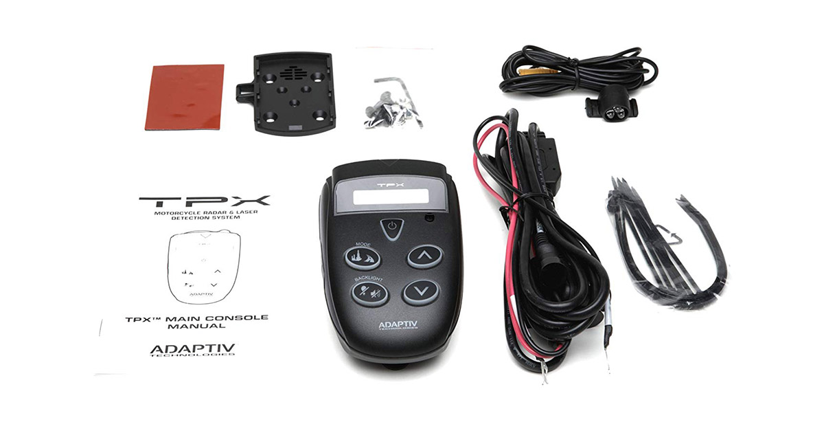 TPX A-01-01 Motorcycle Radar and Laser Detector image