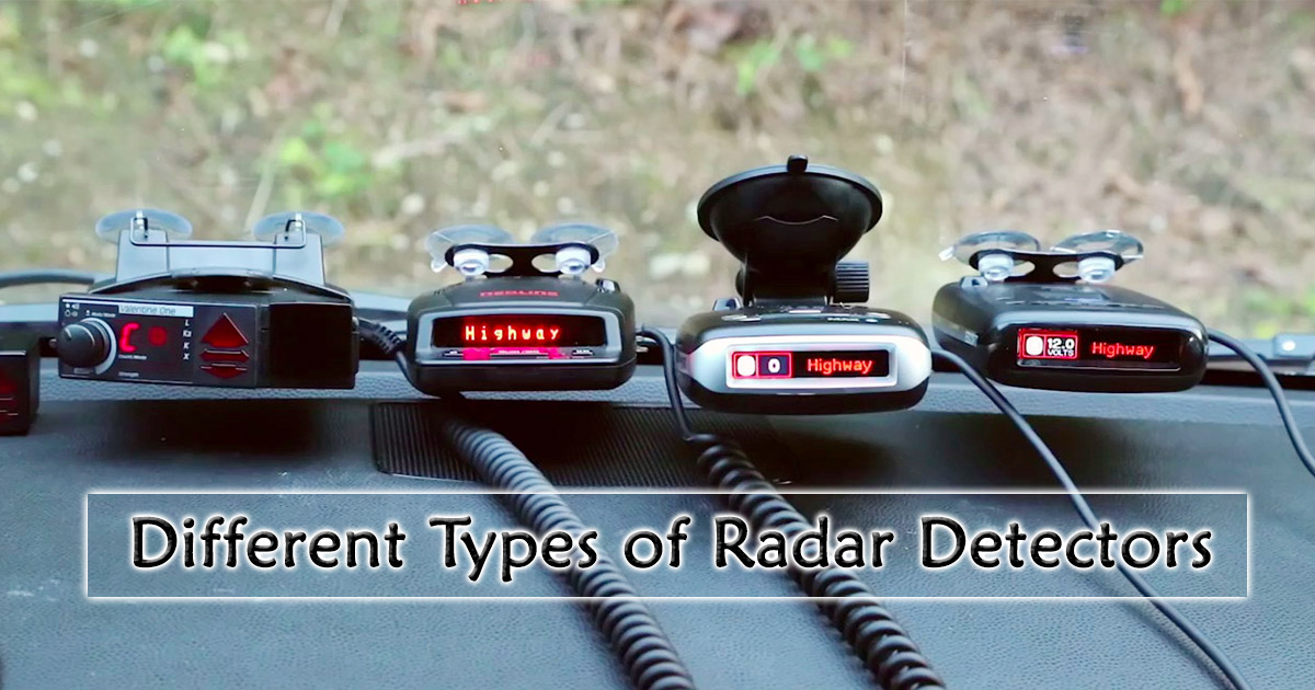 Different Types of Radar Detectors image
