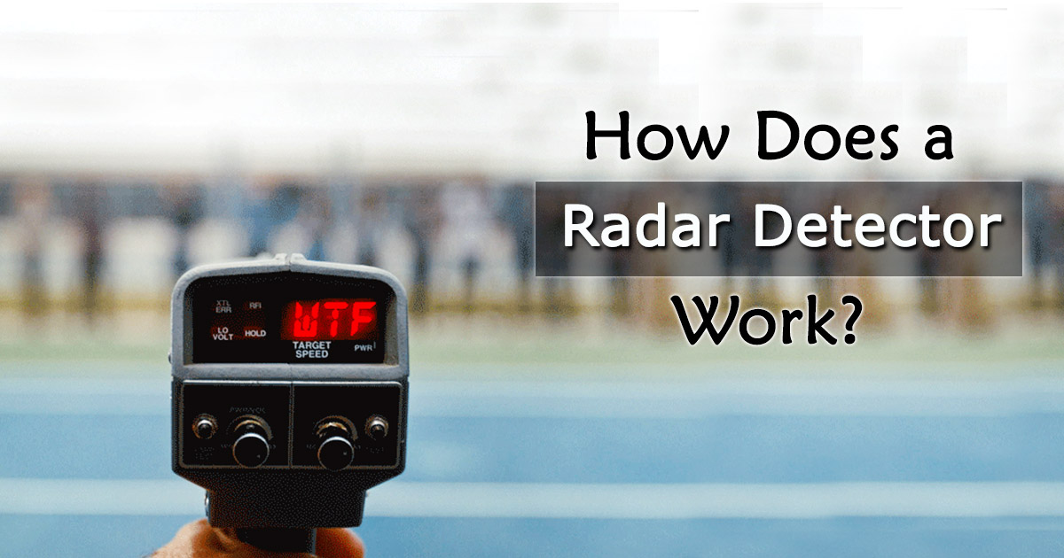 How Does a Radar Detector Work image
