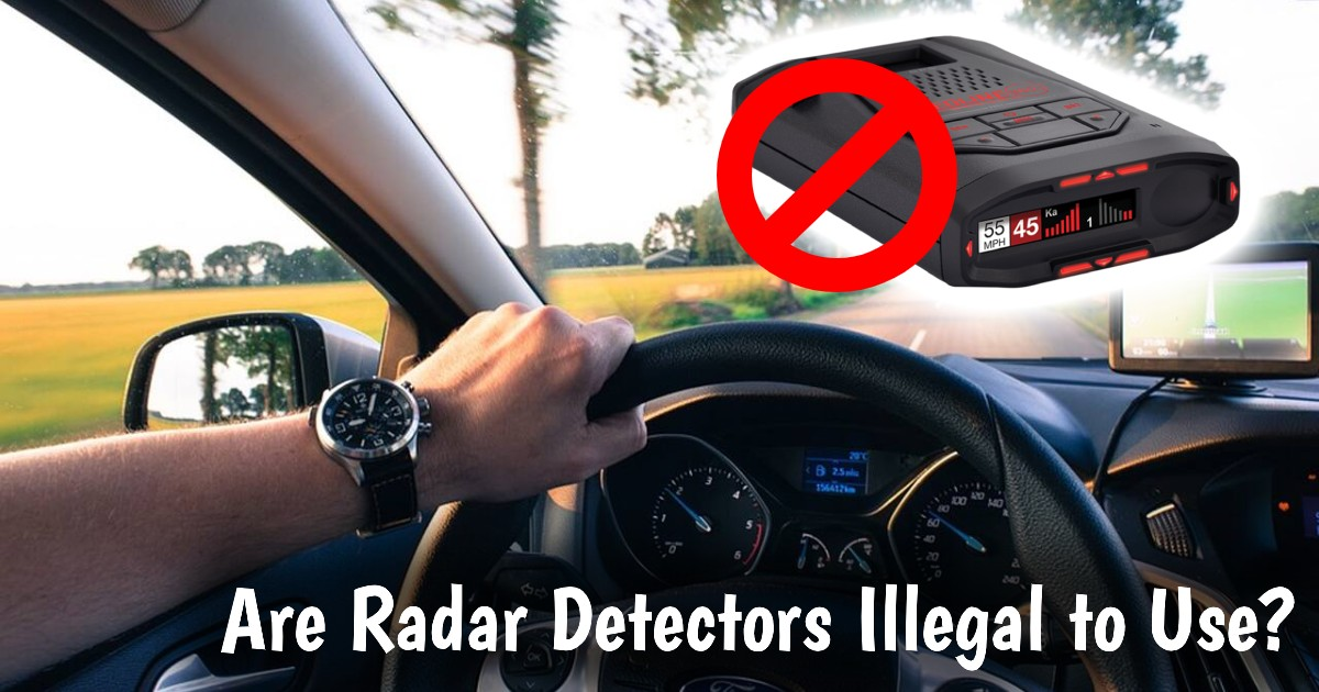 Are Radar Detectors Illegal to Use image