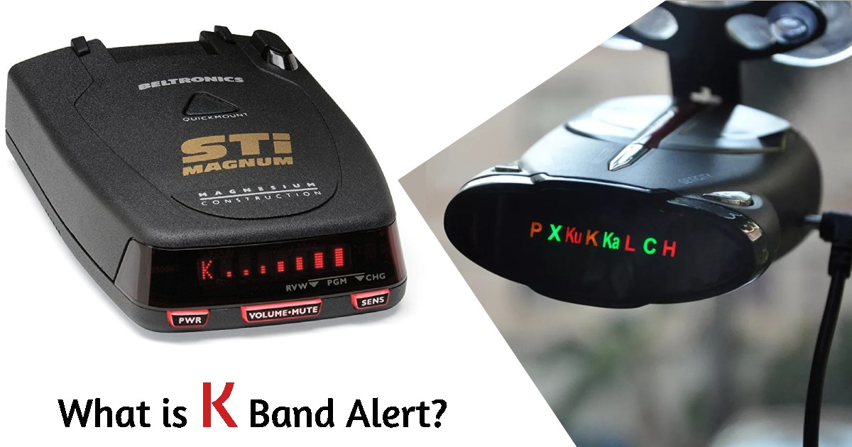 What is K Band Alert image